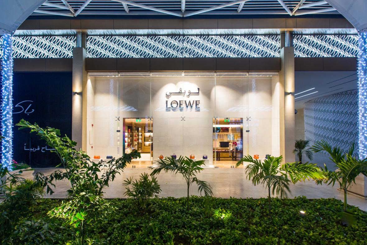 Loewe Opens New Stand Alone Boutique In Jeddah