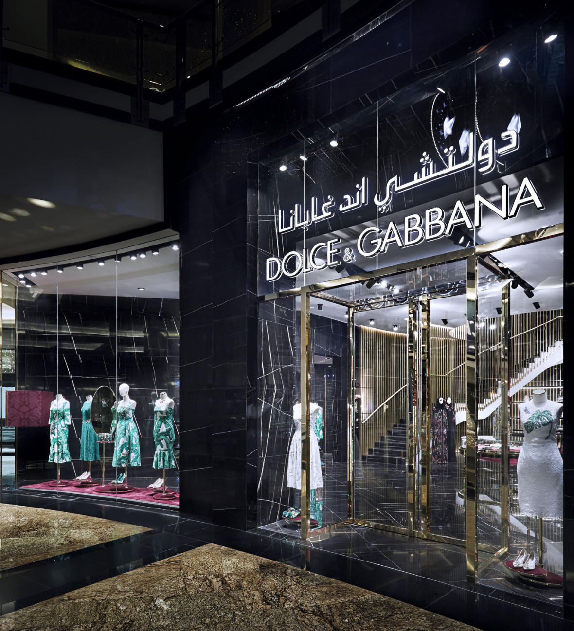 d7c8af61d784 Dolce & Gabbana Unveils New Mall of the Emirates Boutique