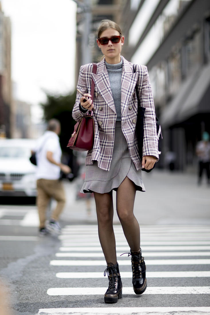 New York Fashion Week Spring-Summer 2018 – The Street Style