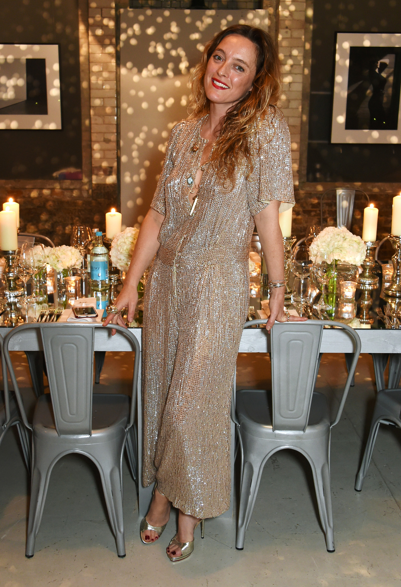 c542ee61d6f ... Private Dinner Party with Alice Temperley. Arizona Muse and Alice  Temperley