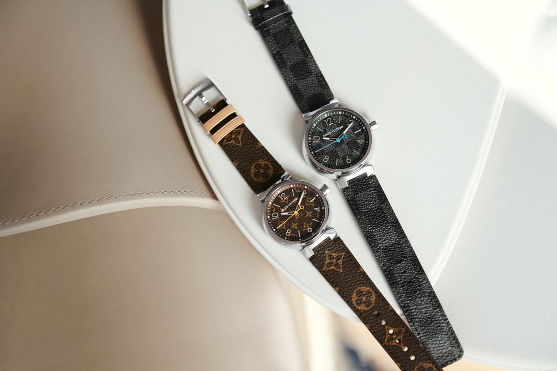 aed8951848766 لويس فويتون تكشف عن تصاميم جديدة من ساعات tambour